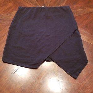 Asos Tulip Style Black Mini Skirt